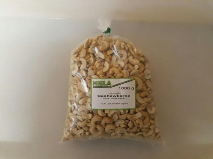 Cashewkerne, SPLITS, 1 kg
