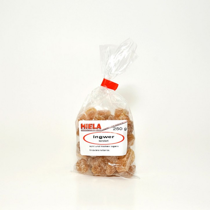 Ingwer, kandiert, 250 g