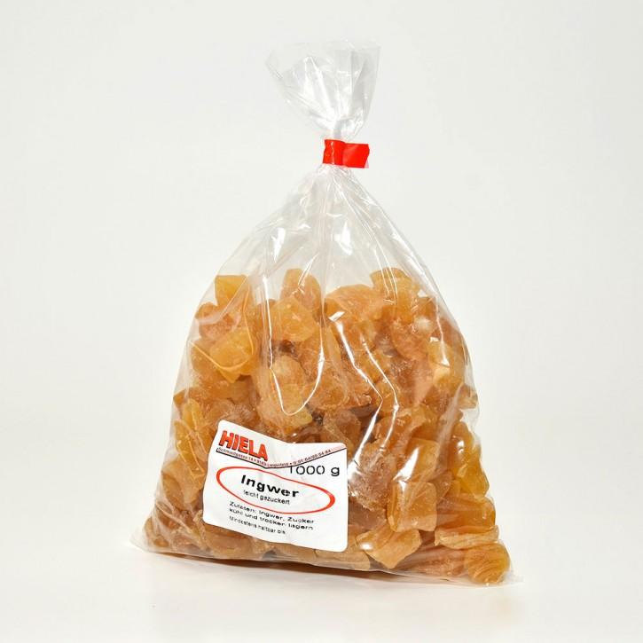 Ingwer, leicht gezuckert, 1 kg