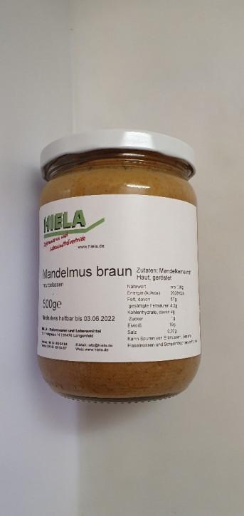 Braunes Mandelmus, 500 g