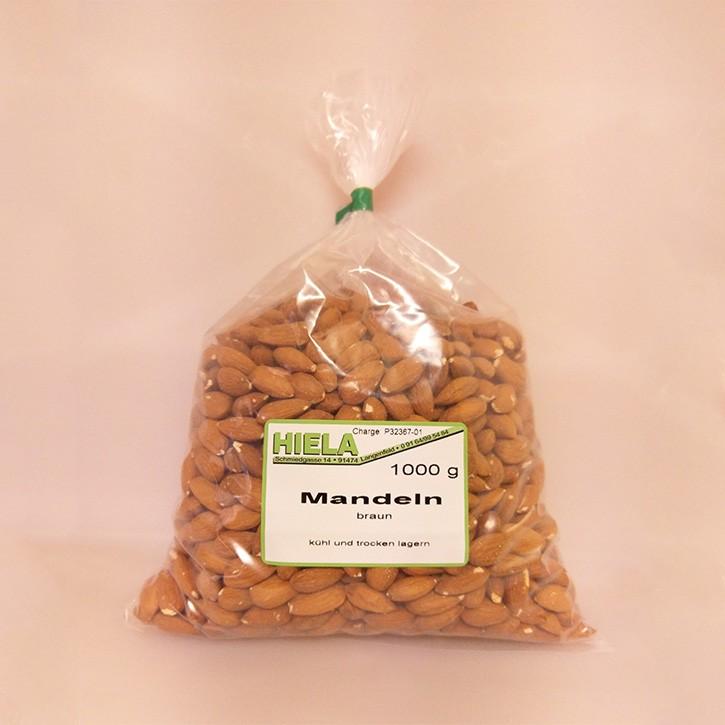 Mandeln braun,  1 kg