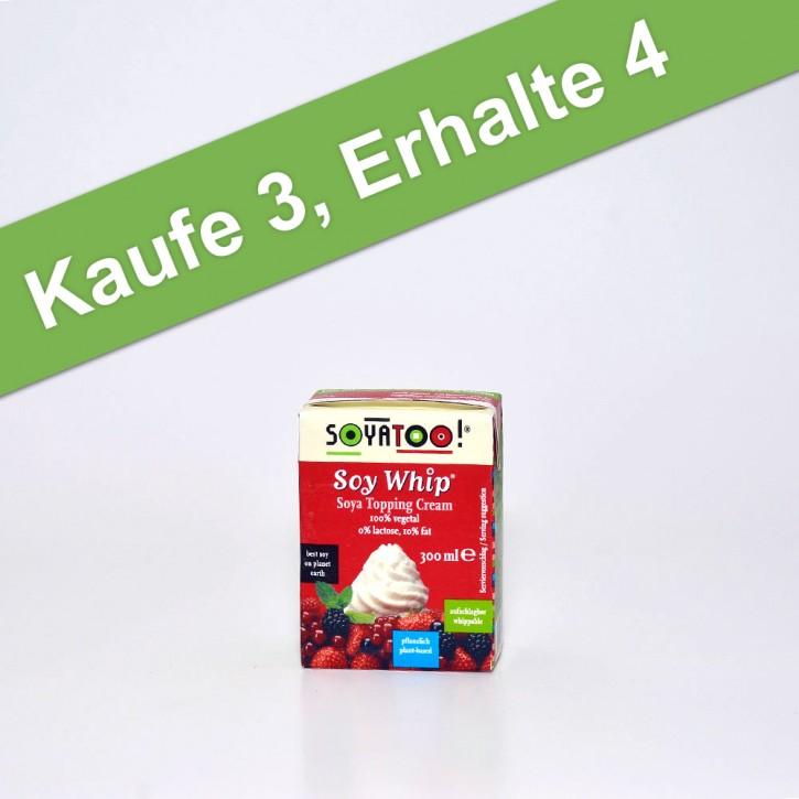 Soja Schlag-Creme, 300 g KAUFE3, ERHALTE 4