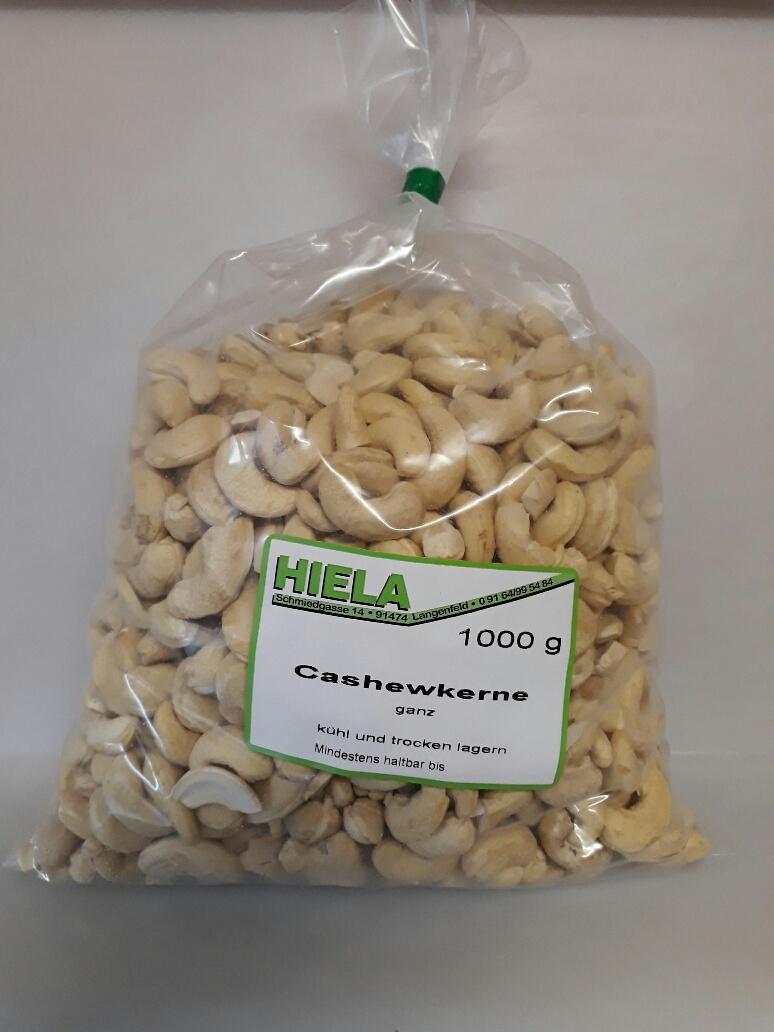 Cashewkerne ganz, 1 kg