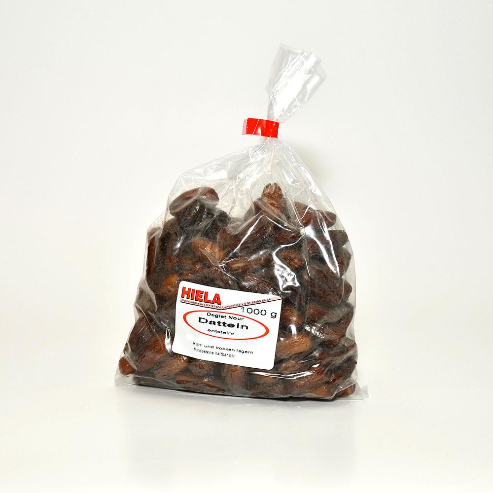 Datteln, entsteint, Deglet nour, 1 kg