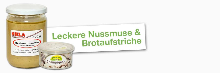 Nussmuse & Brotaufstriche