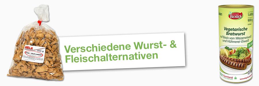 Wurst- & Fleischalternativen