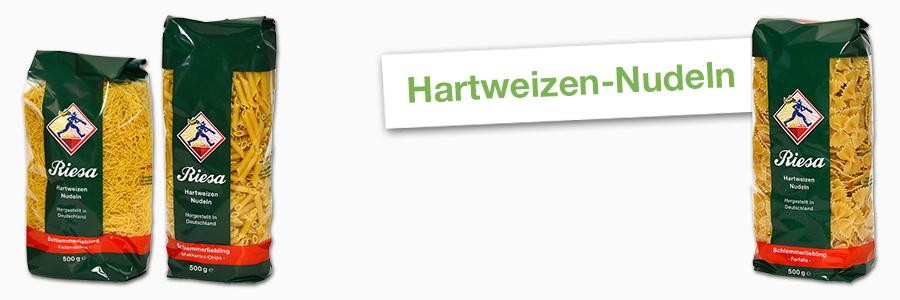 Hartweizen-Nudeln ohne Ei