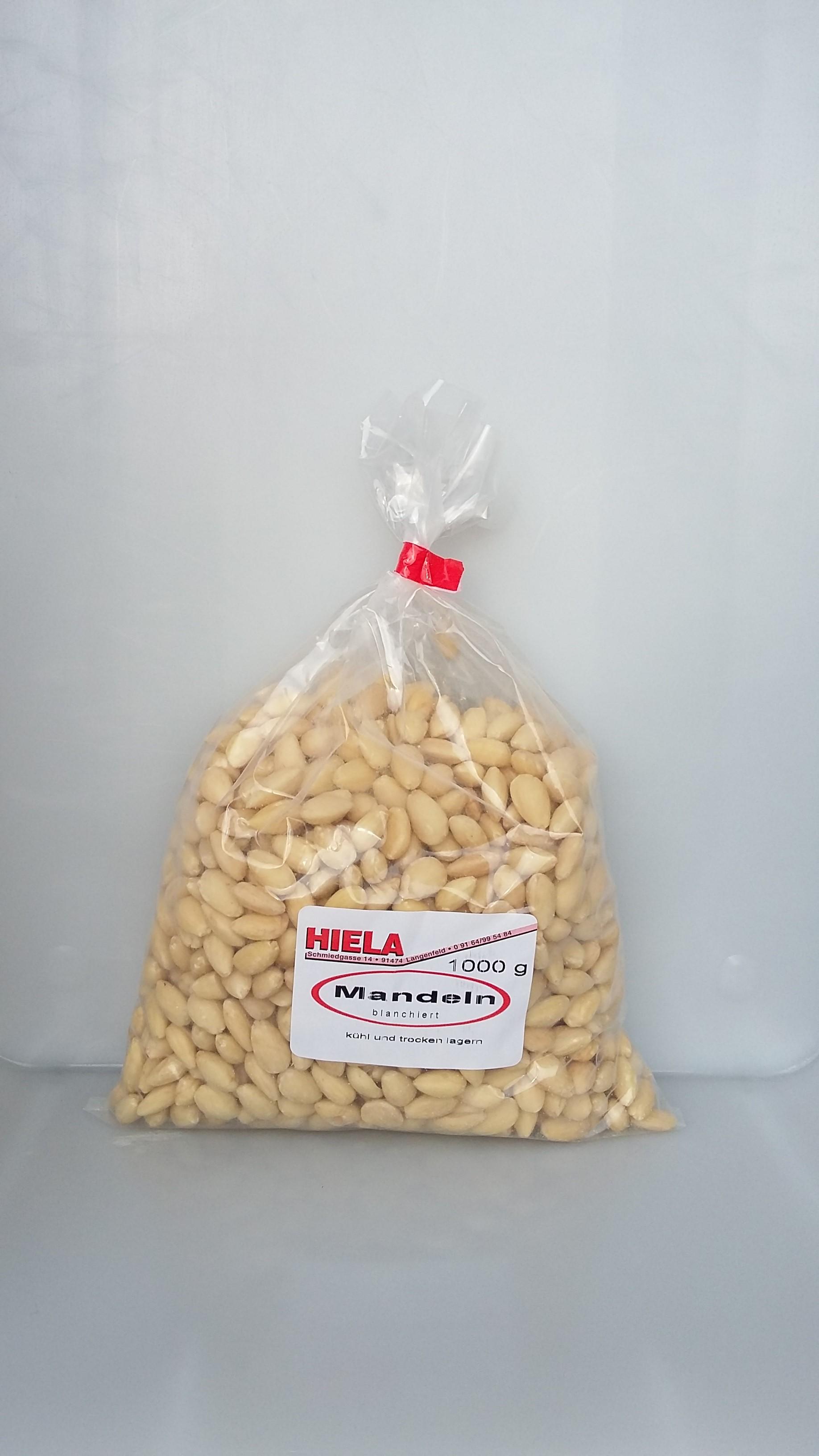 Mandeln weiß / blanchiert 1 kg