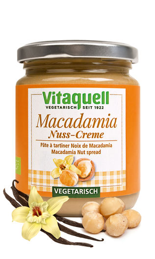 Macadamia - NUSS - Creme, 250 g